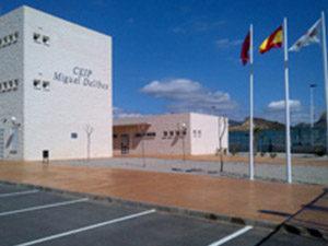 """Inauguración del Colegio de Educación Infantil y Primaria """"Miguel Delibes"""" de Mazarrón (Murcia)"""