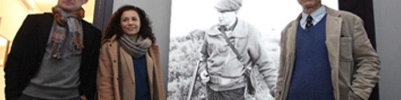 """Presentación de la exposición """"Cazando imágenes. Fotografías de Francisco Ontañón para El libro de la caza menor de Miguel Delibes"""""""