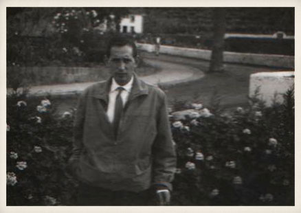 Miguel Delibes en Tenerife, 1957.